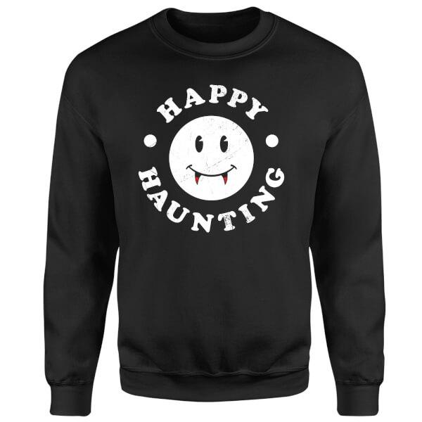 Happy Haunting Sweatshirt - Black