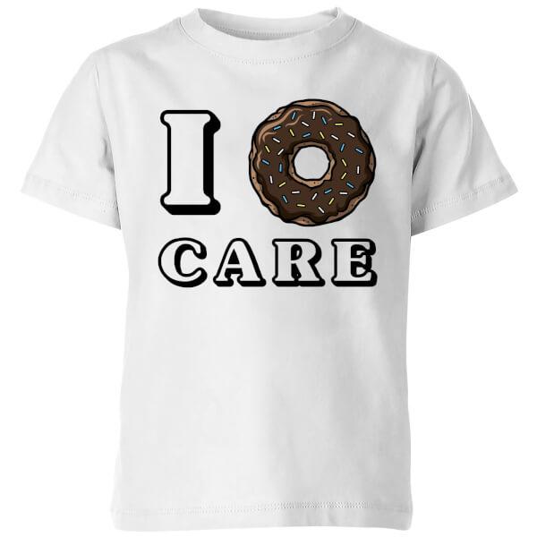 My Little Rascal I Donut Care Kids' T-Shirt - White