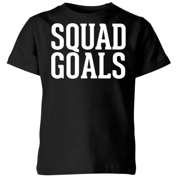 Squad Goals Kids' T-Shirt - Black