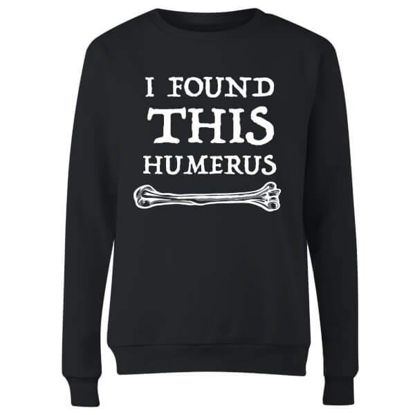 I Found this Humurus Women's Sweatshirt - Black