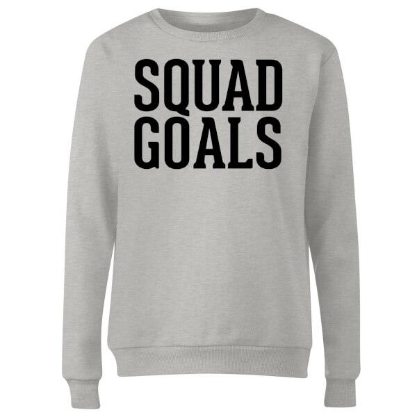 Squad Goals Women's Sweatshirt - Grey