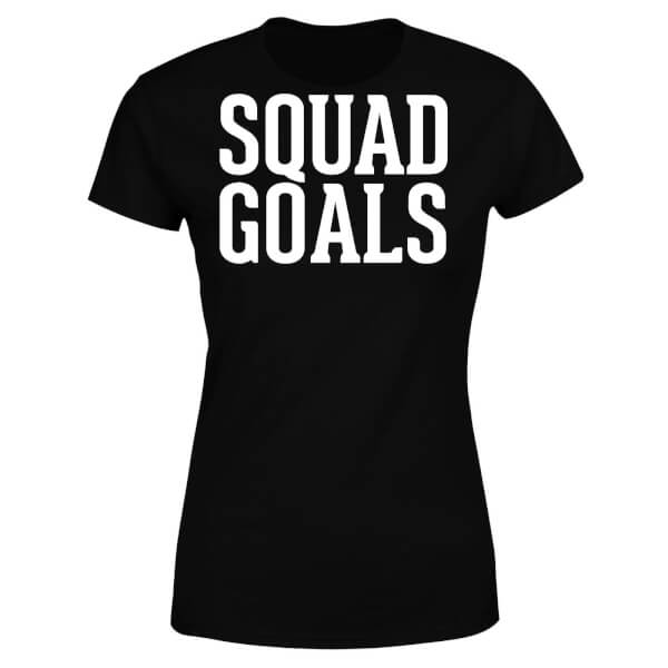 Squad Goals Women's T-Shirt - Black