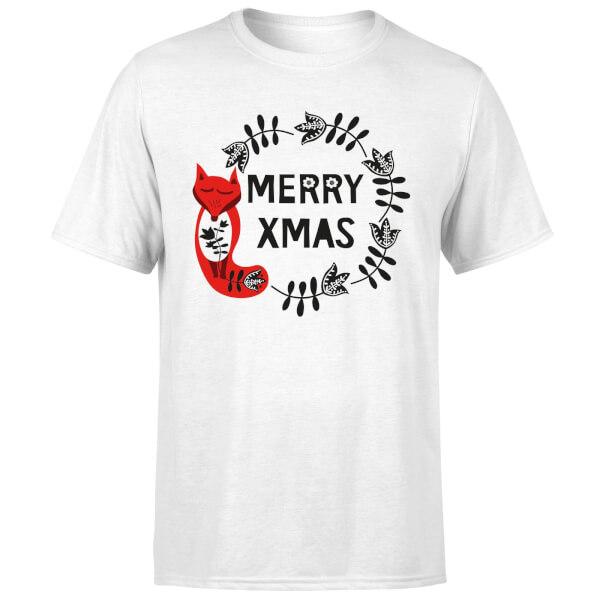 Merry Christmas T-Shirt - White