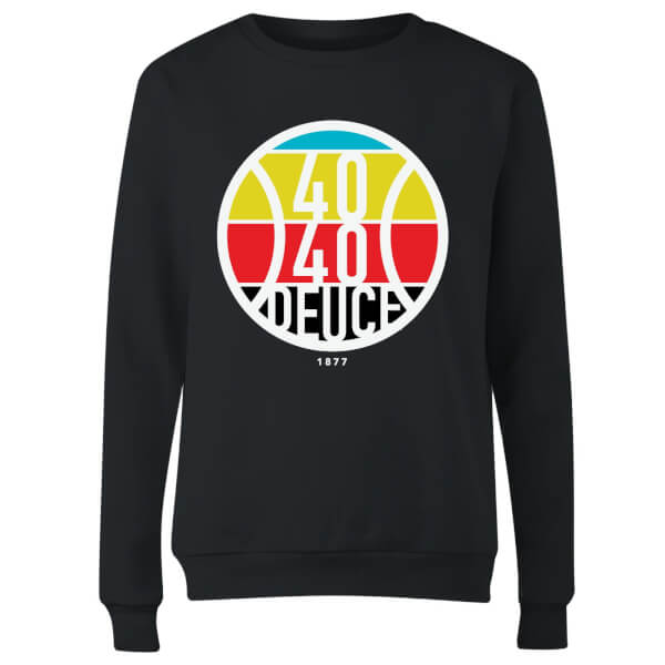 40 40 Deuce Women's Sweatshirt - Black