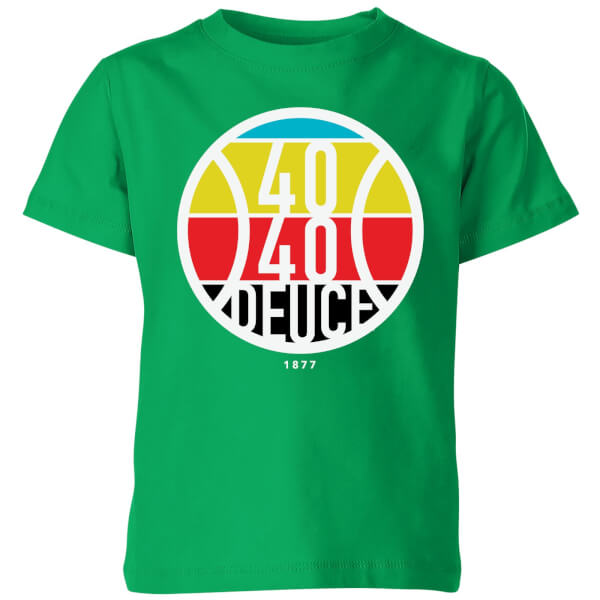 40 40 Deuce Kids' T-Shirt - Kelly Green