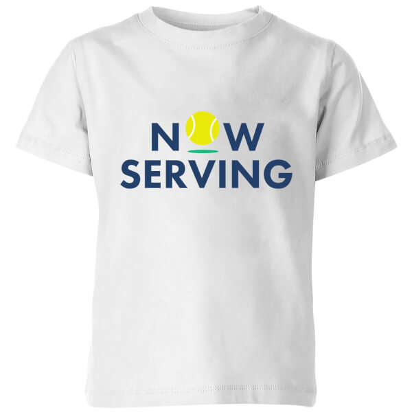 Now Serving Kids' T-Shirt - White