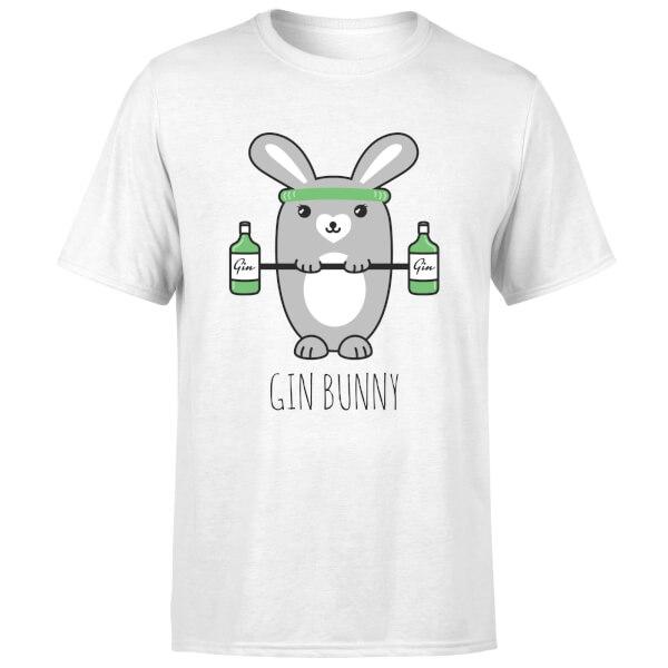 Gin Bunny T-Shirt - White