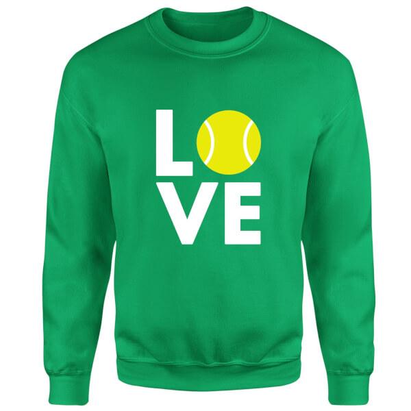 Love Tennis Sweatshirt - Kelly Green