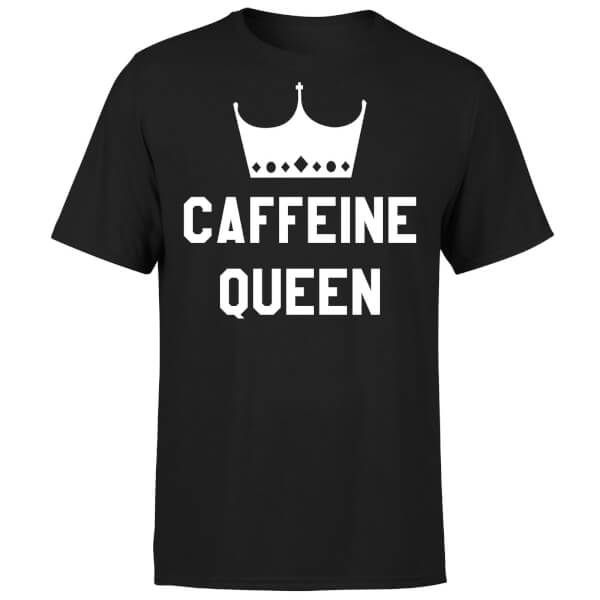 Caffeine Queen T-Shirt - Black