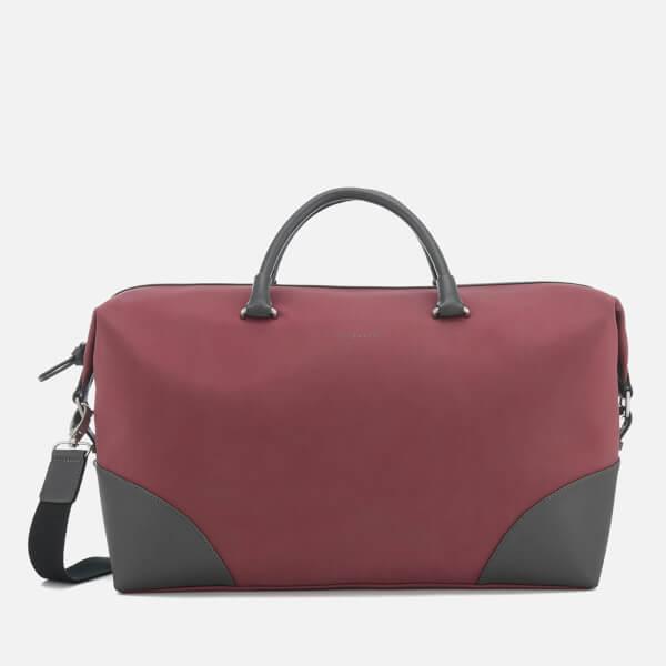 Ted Baker Men's Swipes Nubuck Holdall Bag - Red