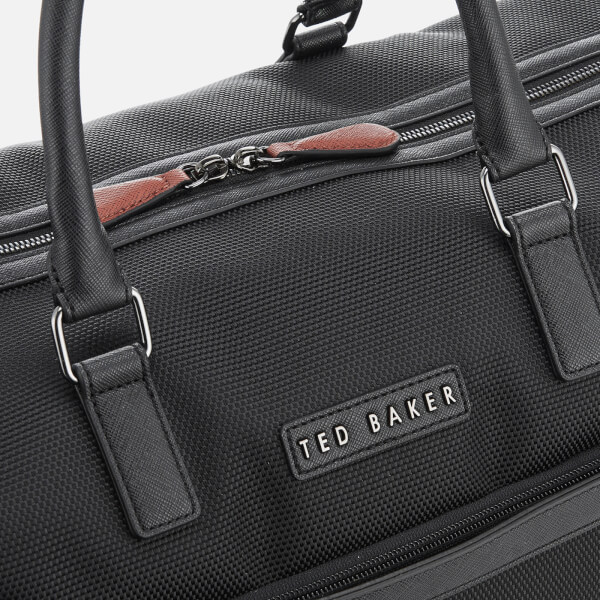 e0138fb05490f4 Ted Baker Men S Corre Leather Holdall Bag Black Country Attire ...