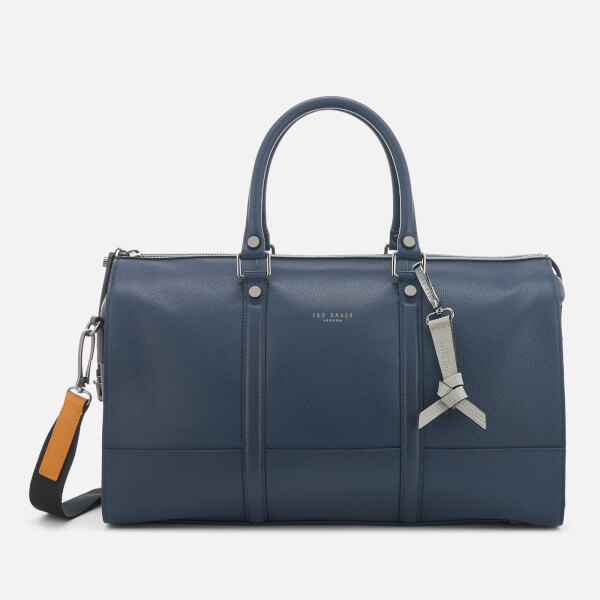 Ted Baker Men's Radical Leather Holdall Bag - Navy