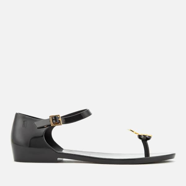 Vivienne Westwood for Melissa Women's Honey Flat Sandals - Black Orb
