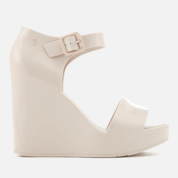 3c693eb56f Melissa Women's Mar Wedged Sandals - Ivory   FREE UK Delivery   Allsole