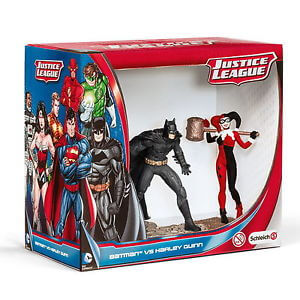 Schleich Batman Vs. Harley Quinn Scenery Pack
