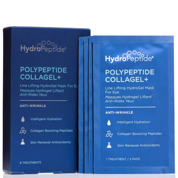 HydroPeptide PolyPeptide Collagel+ Eye Masks (8 Sachets)