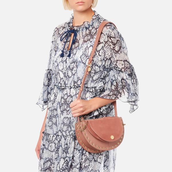 See By Chloé Women's Suede Shoulder Bag - Cheek: Image 21