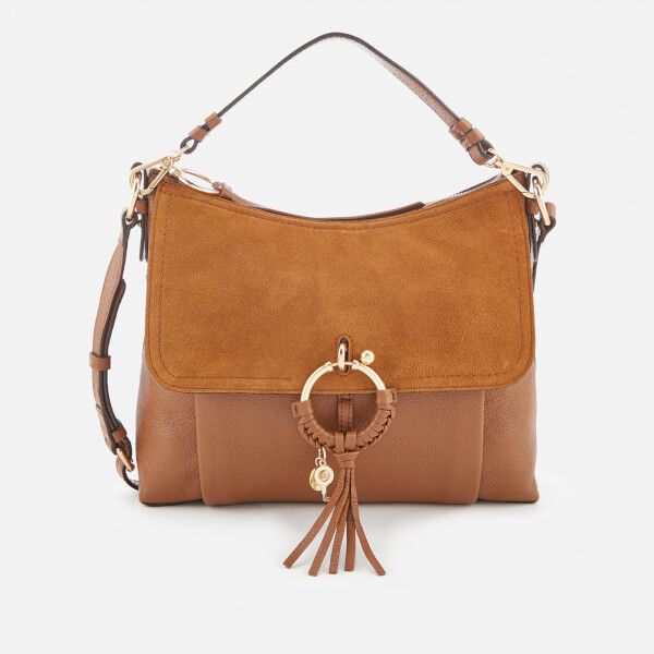 See By Chloé Women's Medium Joan Shoulder Bag - Caramelo