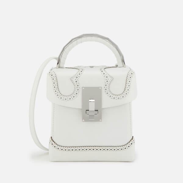 The Volon Women's Box Alice Bag - White