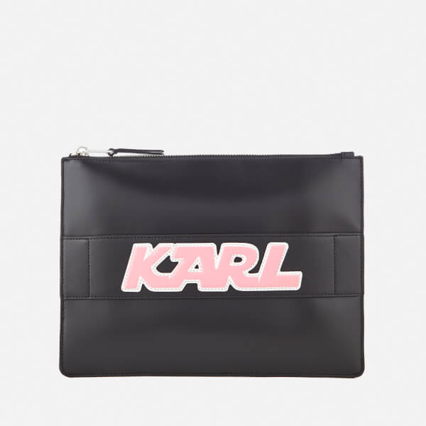 Karl Lagerfeld Women's K/Sporty Pouch - Black