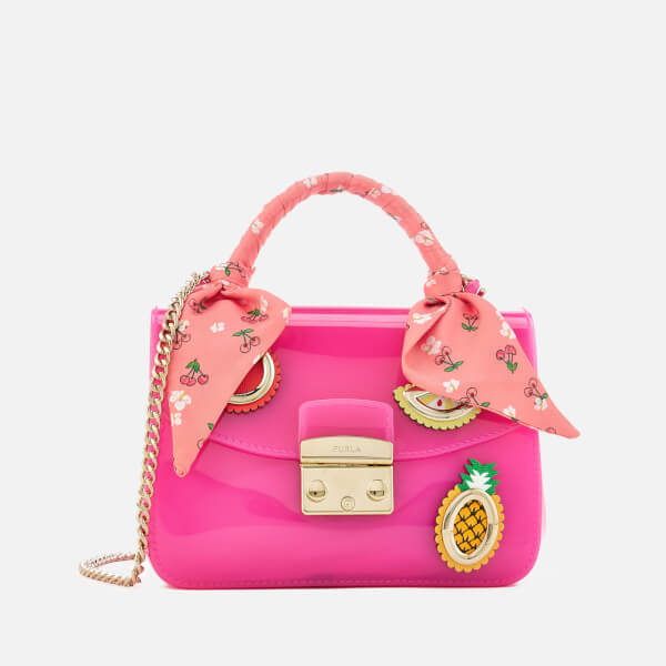 Furla Women's Candy Mini Cross Body Bag - Pink
