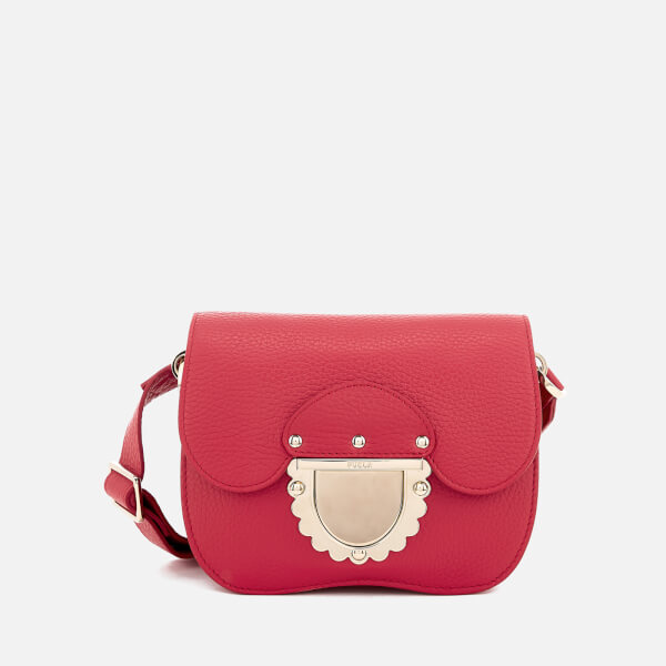 bb4e1d064ec66 Furla Women s Ducale Mini Cross Body Bag - Ruby  Image 1