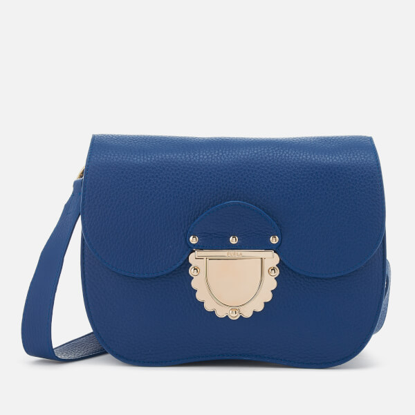Furla Women's Ducale Small Cross Body Bag - Blue