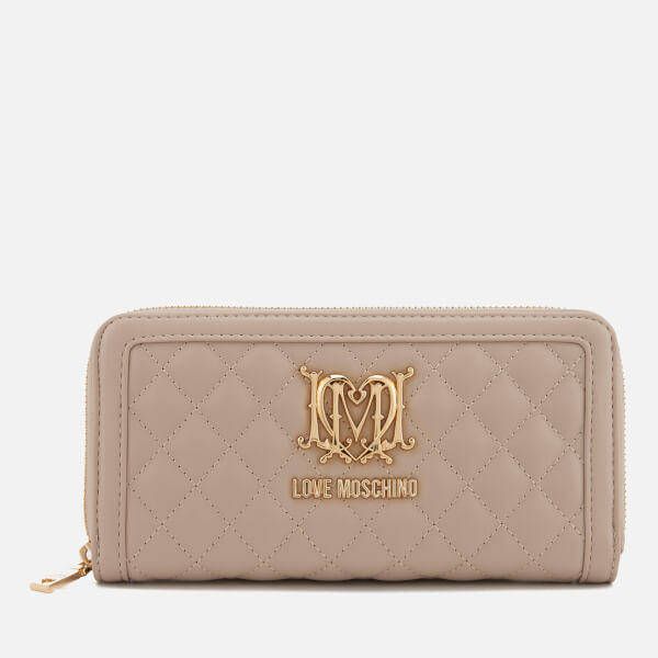 Love Moschino Women's Wallet - Taupe