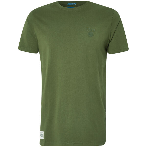 UCLA Men's Yuma Chest Logo T-Shirt - Chive