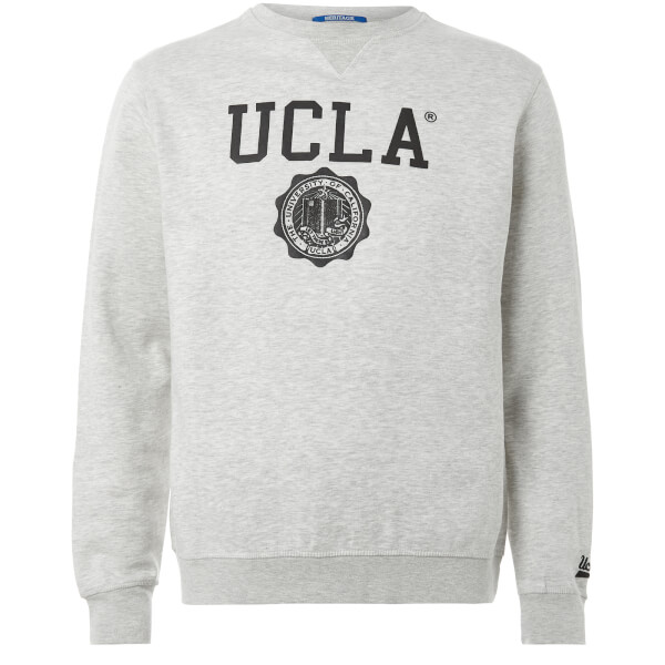UCLA Men's Lauther Logo Sweatshirt - Light Grey Marl