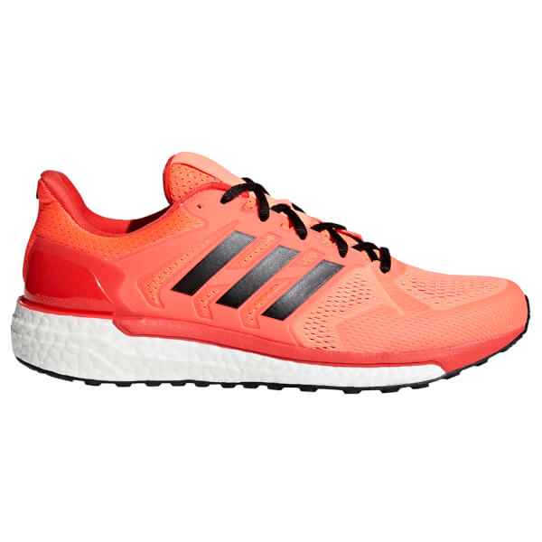 adidas Men s Supernova ST Running Shoes - Orange Black Red Sports ... 68b920c85