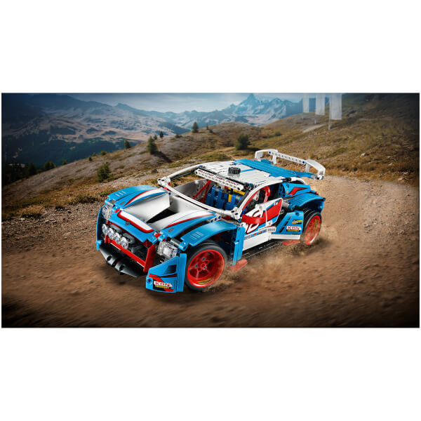 lego technic la voiture de rallye 42077 my geek box. Black Bedroom Furniture Sets. Home Design Ideas