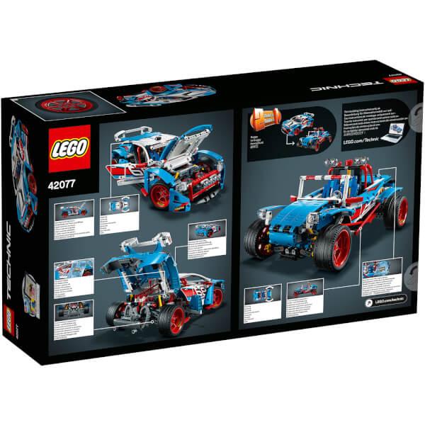 lego technic la voiture de rallye 42077 my geek box. Black Bedroom Furniture Sets. Home Design Ideas