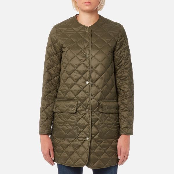Barbour Heritage Women S Skirden Jacket Olive Free Uk