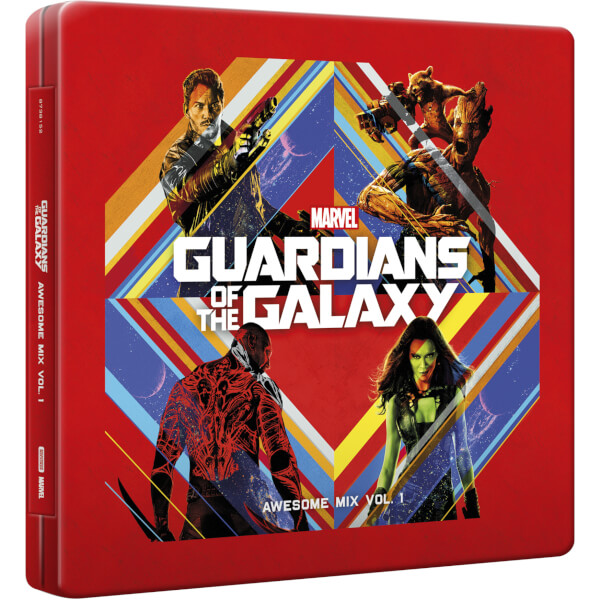 Zavvi Exclusive Guardians Of The Galaxy Vol 1 Cd