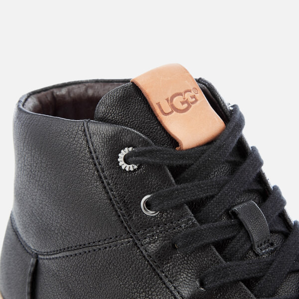 Ugg Men S Cali Lace High Top Trainers Black Free Uk