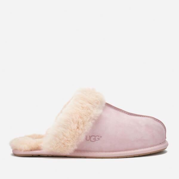 4c3524541e UGG Women s Scuffette II Sheepskin Slippers - Seashell Pink  Image 1