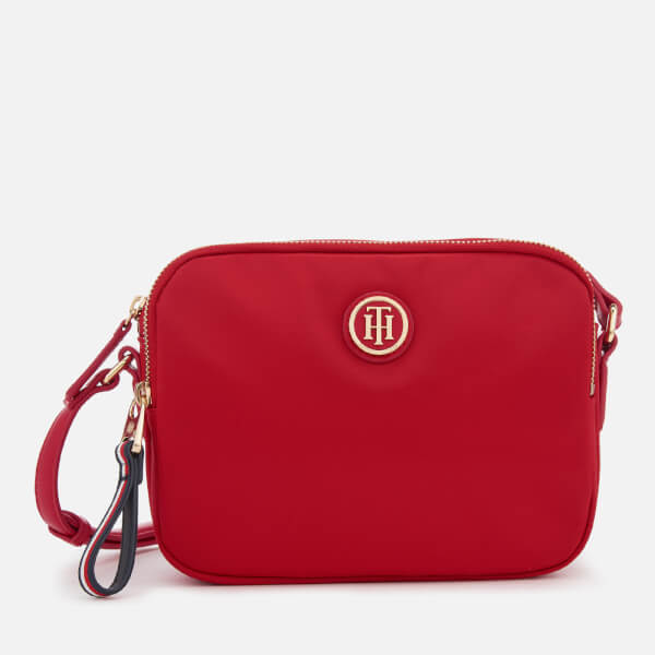 Tommy Hilfiger Women's Poppy Crossover Bag - Red