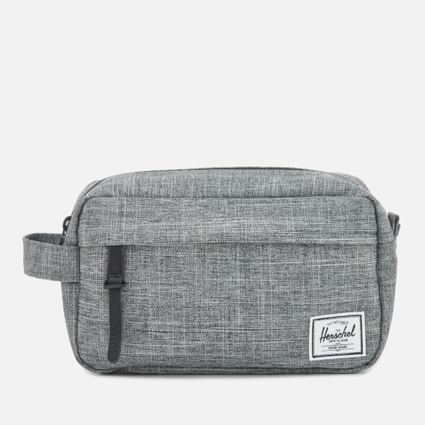 9ff3f9bc4359 Herschel Supply Co. Men s Chapter Carry On Wash Bag - Raven Crosshatch   Image 1
