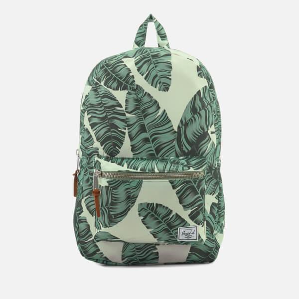 Herschel Supply Co. Men's Settlement Backpack - Silver Birch Palm