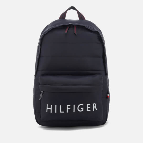 Tommy Hilfiger Men's Light Nylon Backpack - Tommy Navy