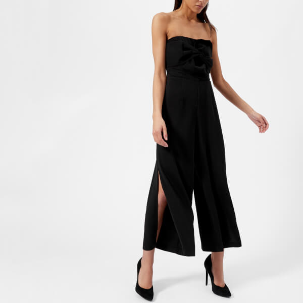 c5bc2dc25ef5 Guess Women s Piper Jumpsuit - Jet Black Womens Clothing