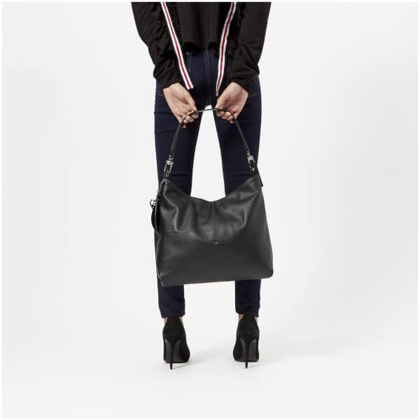 Guess Women S Lou Hobo Bag Black Image 3