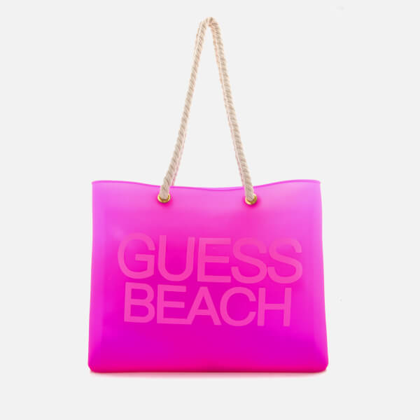 Guess Women's Beach Bag - Fierce Purple