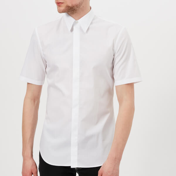 Maison Margiela Poplin short sleeve shirt