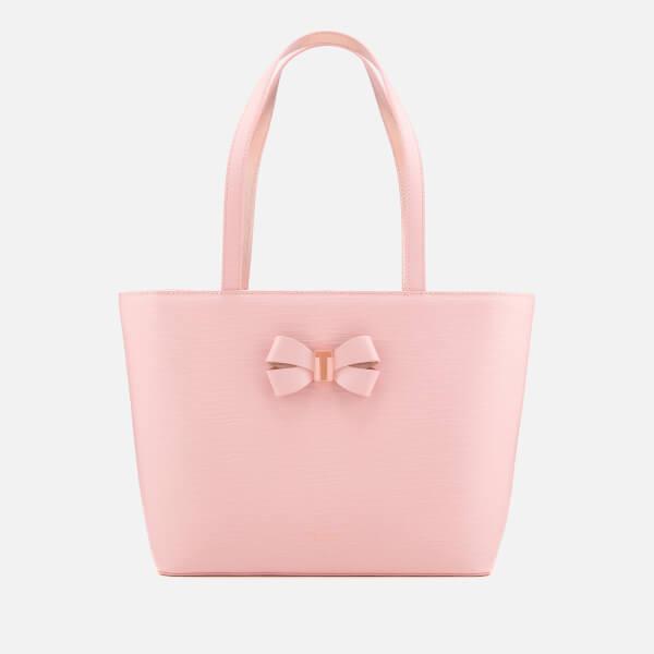 Ted Baker Women's Bowmisa Bow Detail Small Shopper Bag - Light Pink