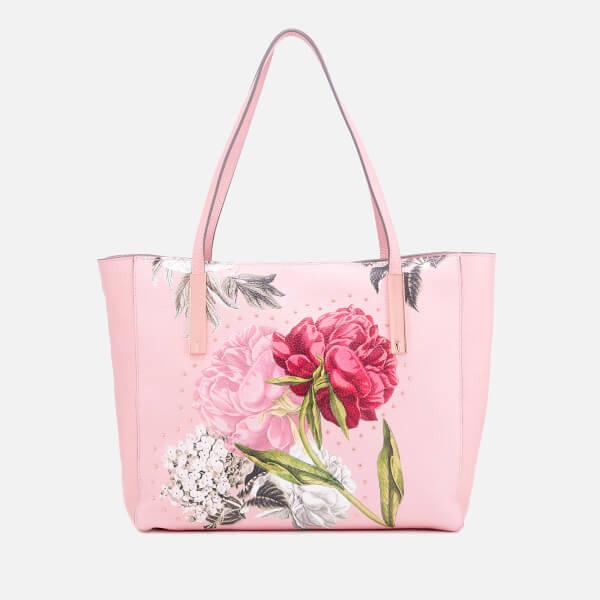 c94045556 Ted Baker Women s Peonina Palace Gardens Large Tote Bag - Dusky Pink  Image  1