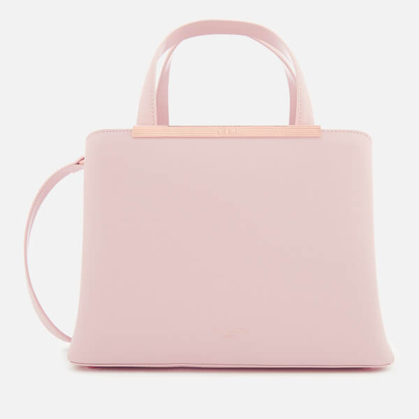 Ted Baker Women's Naomii Smooth Leather Tote Bag - Light Pink