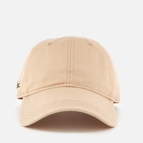 Lacoste Men's Side Logo Cap - Krema