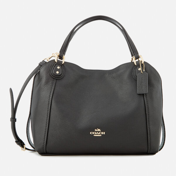Coach Women s Edie 28 Shoulder Bag - Black  Image 1 06bfdceb37